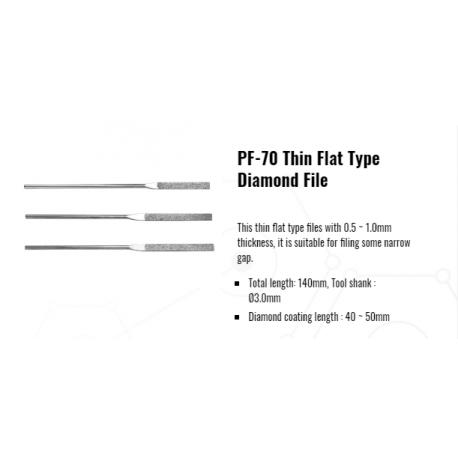 Pile diamantate manuale   PF-70