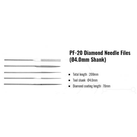 Pile diamantate manuale   PF-20