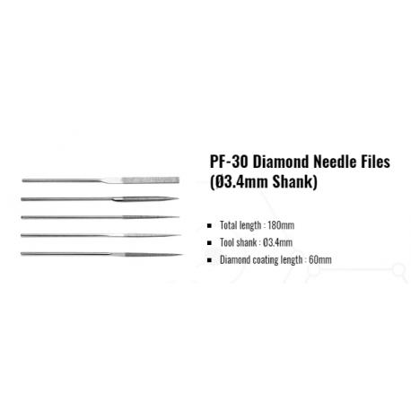 Pile diamantate manuale   PF-30